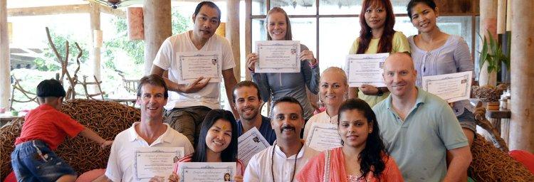 Jeevmoksha Yoga Gurukul Rishikesh India 1
