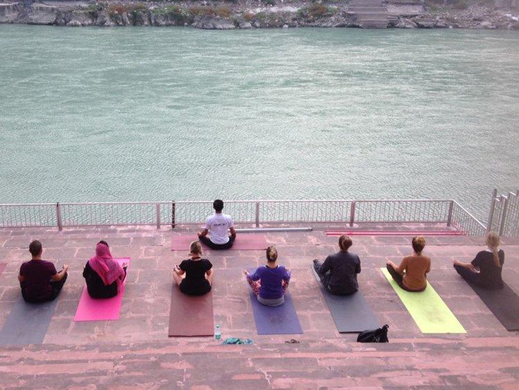 Jeevmoksha Yoga Gurukul Rishikesh India 5