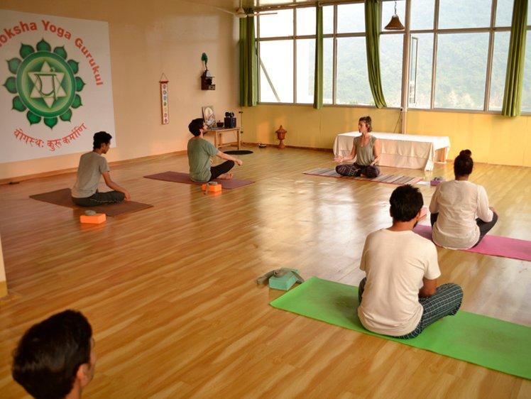 Jeevmoksha Yoga Gurukul Rishikesh India 6