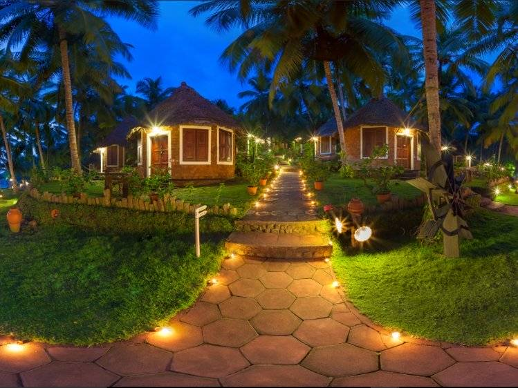 Manaltheeram Ayurveda Beach Village Trivandrum India 4