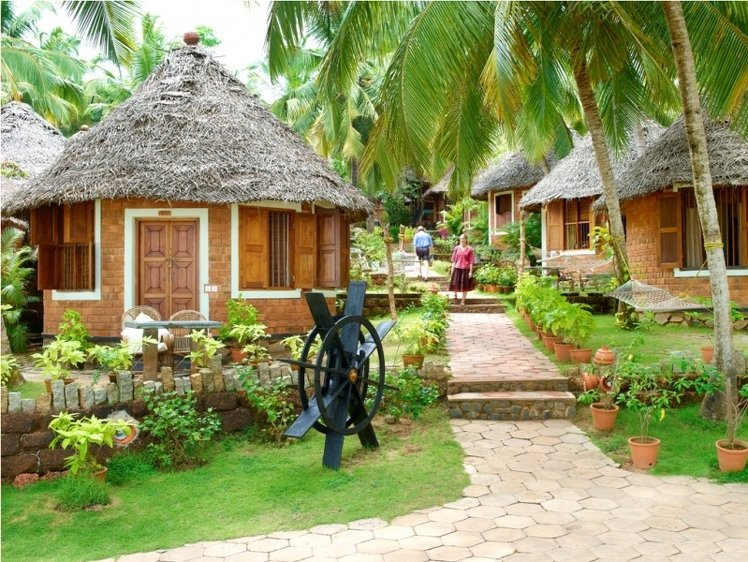 Manaltheeram Ayurveda Beach Village Trivandrum India 9