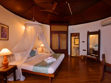 Manaltheeram Ayurveda Beach Village Rejuvenation Therapy Kerala house standard