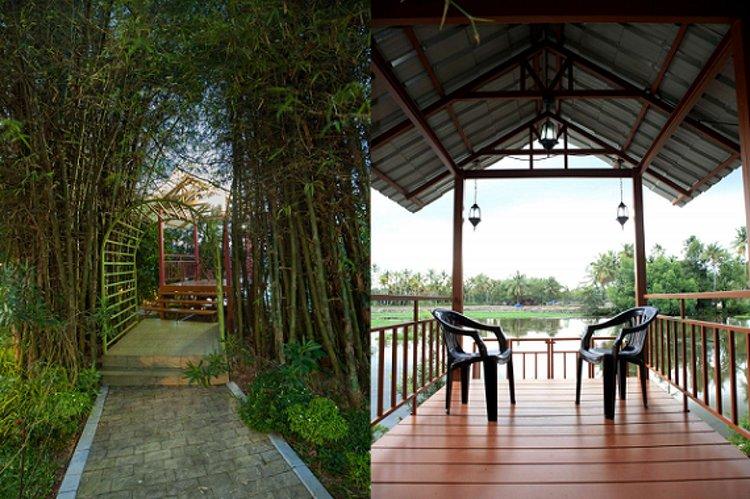Raha Bamboo Lagoon Ayurveda Village Cochin India 13