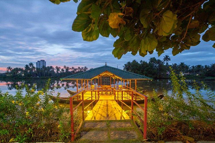 Raha Bamboo Lagoon Ayurveda Village Cochin India 14