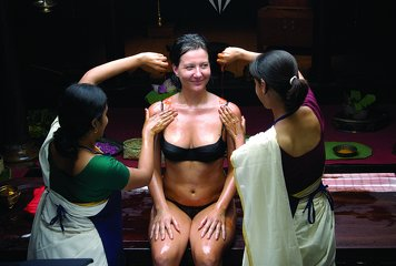 Raha Bamboo Lagoon Ayurveda Village Body Purification Therapy