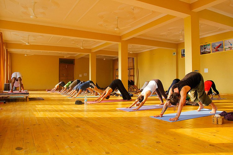 AYM Yoga School Rishikesh India 1