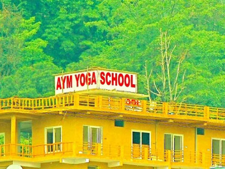 AYM Yoga School Rishikesh India 4