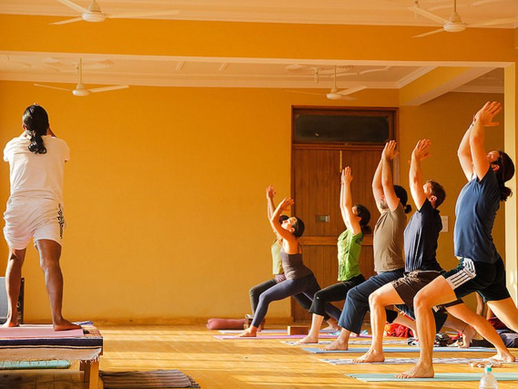 AYM Yoga School Rishikesh India 2