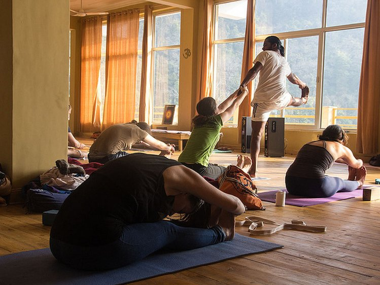 AYM Yoga School Rishikesh India 11