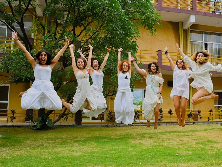 AYM Yoga School Rishikesh India 14
