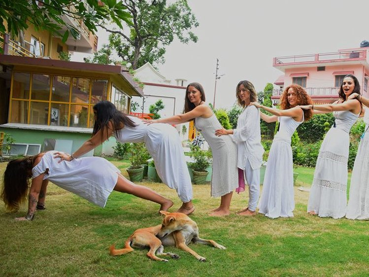 AYM Yoga School Rishikesh India 15