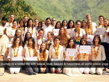 World Peace Yoga School  Yoga Teacher Training