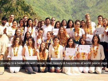 World Peace Yoga School 200 Hour Yoga Teacher Training