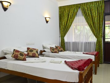 Mitra Hermitage Ayurveda Hospital Middle Garden View Rooms