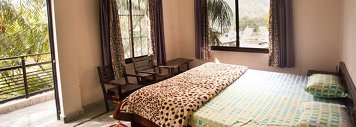 Vedic Yoga Centre Guesthouse Room
