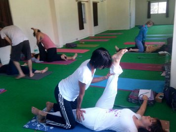 Ganga Yoga Academy Rishikesh India