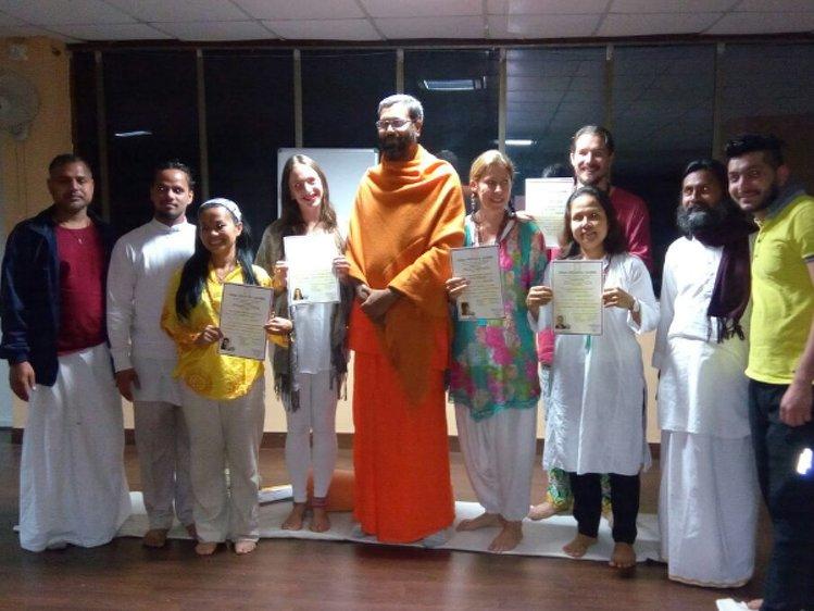 Ganga Yoga Academy Rishikesh India 2