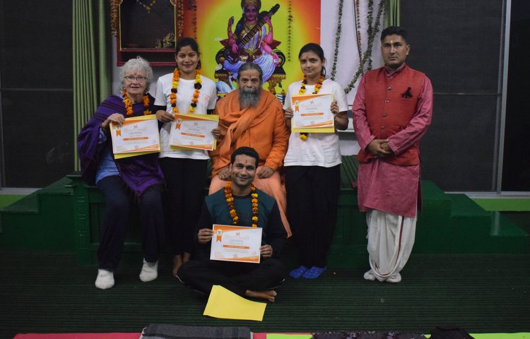 Rishikesh Nath Yogshala 200 hours Multi-Style Yoga Teacher Training 2