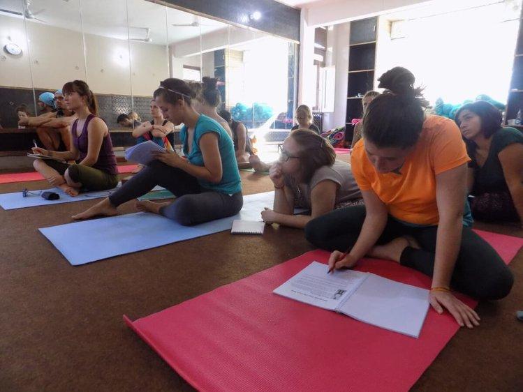 Rishikesh Nath Yogshala 200 hours Multi-Style Yoga Teacher Training 6