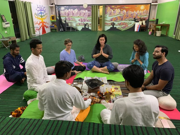 Rishikesh Nath Yogshala 200 Hours Hatha Yoga Teacher Training 7