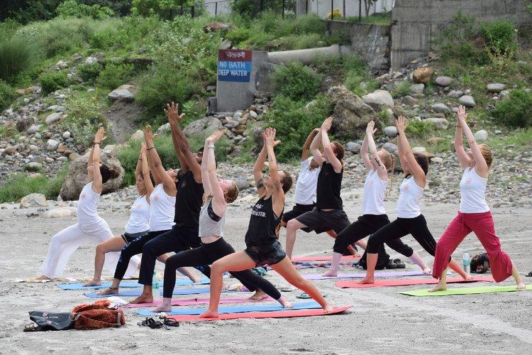 Rishikesh Nath Yogshala 200 Hours Hatha Yoga Teacher Training 14