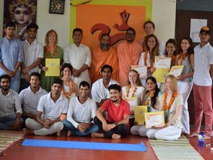 Rishikesh Nath Yogshala 300 Hour Vinyasa Flow & Ashtanga Yoga Teacher Training 21