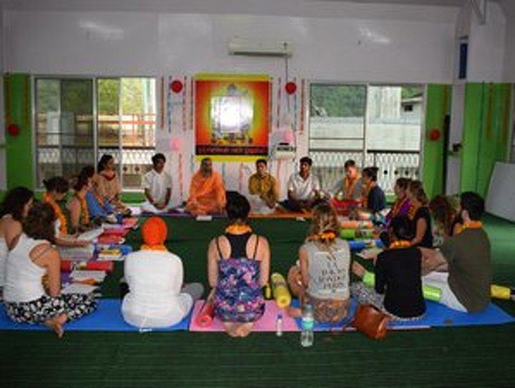 Rishikesh Nath Yogshala 300 Hour Vinyasa Flow & Ashtanga Yoga Teacher Training 24