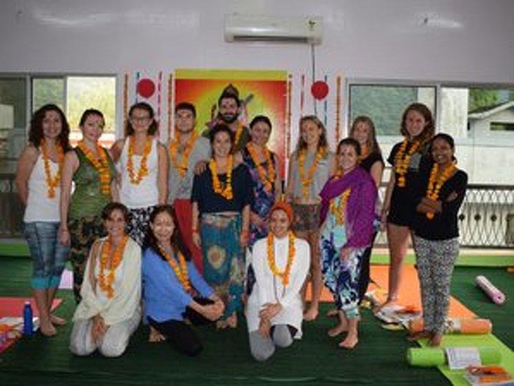 Rishikesh Nath Yogshala 300 Hour Vinyasa Flow & Ashtanga Yoga Teacher Training 26