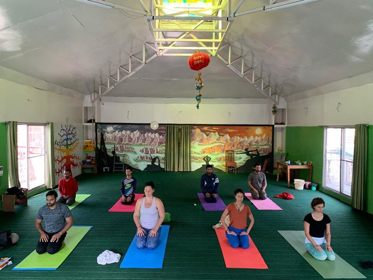 Rishikesh Nath Yogshala 100 Hours  Yoga Teacher Training India 6
