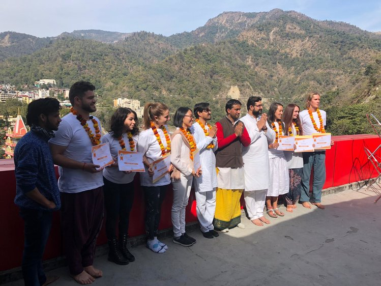 Rishikesh Nath Yogshala 100 Hours  Yoga Teacher Training India 13