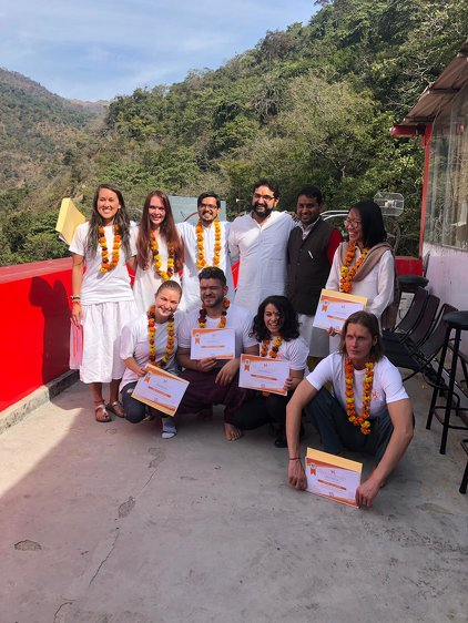 Rishikesh Nath Yogshala 100 Hours  Yoga Teacher Training India 19