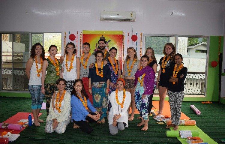 Rishikesh Nath Yogshala 300 Hours Hatha Yoga Teacher Training 14