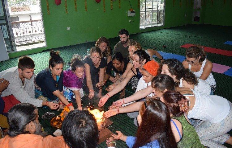 Rishikesh Nath Yogshala 300 Hours Hatha Yoga Teacher Training 27