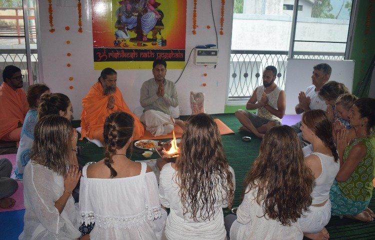 Rishikesh Nath Yogshala 300 Hours Hatha Yoga Teacher Training 29