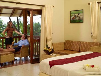 Poovar Ayurveda Village Stress Management Therapy Ayurveda Village Cottage