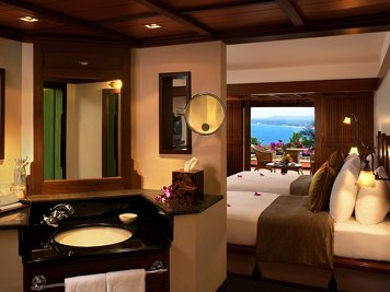 The Raviz Kovalam Lifestyle: Destress Program Beach View Room