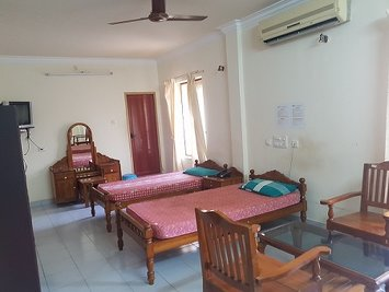 Dhathri Ayurveda Hospital And Panchakarma Center She 40 Care Standard AC Room