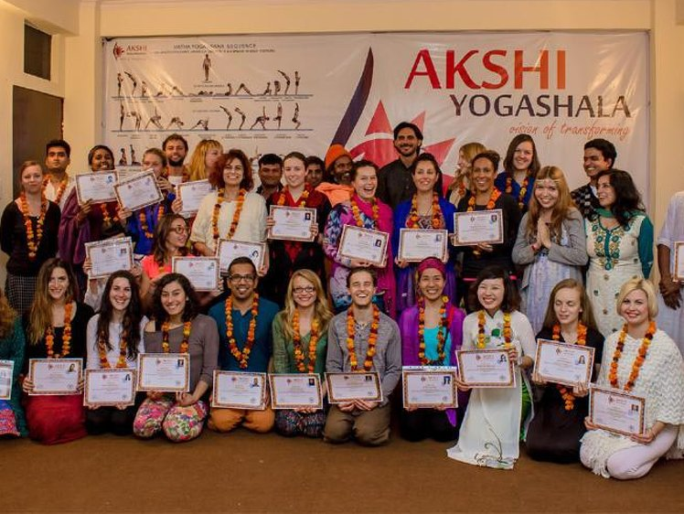 Akshi Yogashala Yoga Teacher Training 1