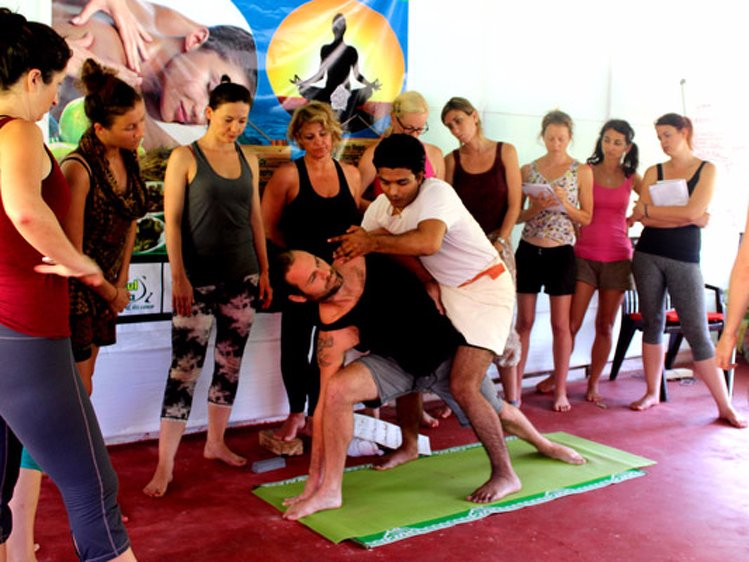 Rishikul Yogshala Yoga Teacher Training 1