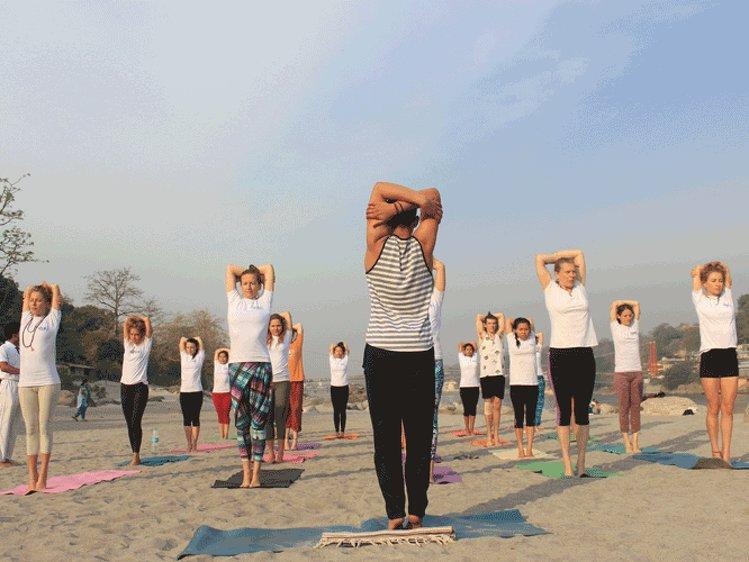 Rishikul Yogshala Yoga Teacher Training 1