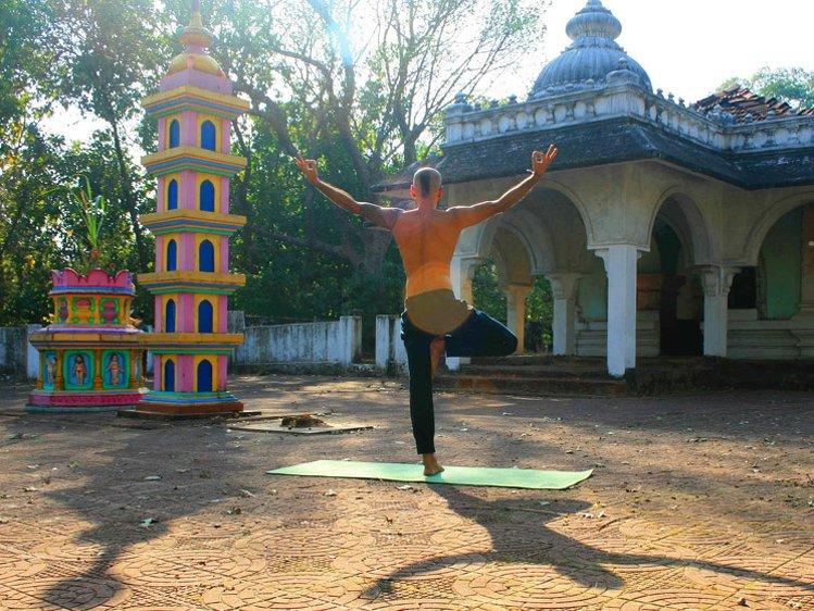 Yog Temple Goa India 1