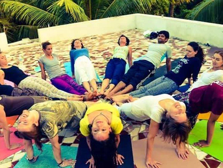 SriMa International School of Transformational Integral Hatha Yoga India Yoga Teacher Training 1