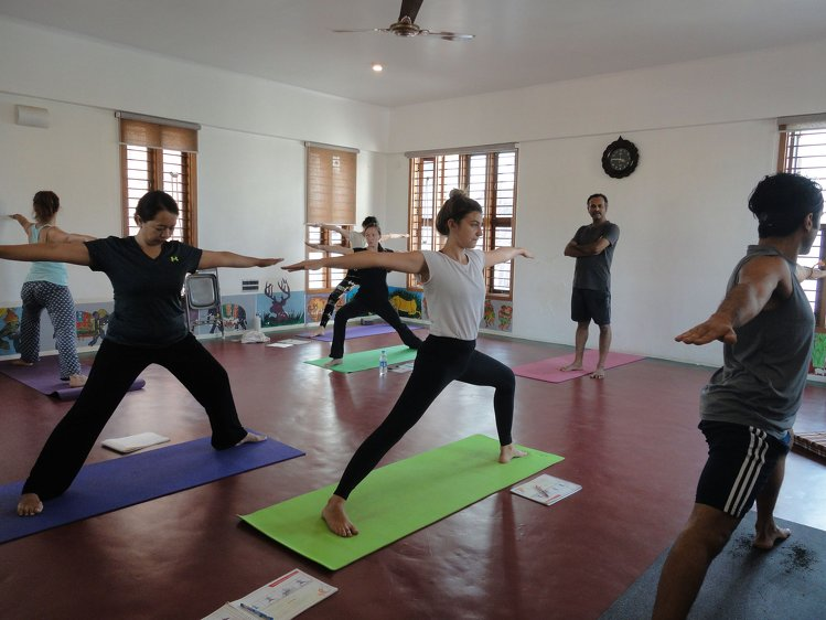 Nirvana Yoga Shala 100 hours Hatha Yoga 1
