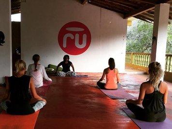 RU Yoga School Twin Sharing Garden Cottage