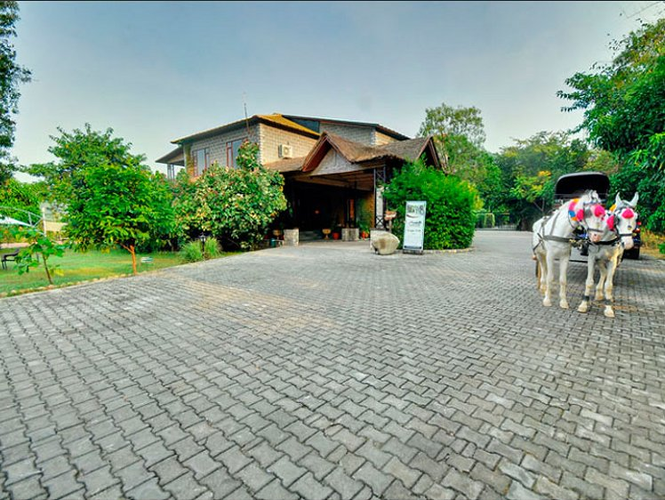 Aahana Resort Ramnagar India 10