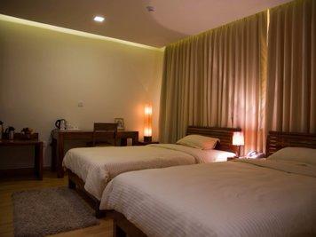Ahalia Ayurvedic Hospital Deluxe Room