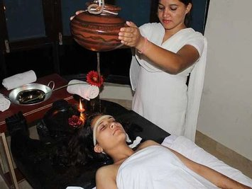 Sandhya Sulphur Hot Springs Health Care Wellness Break