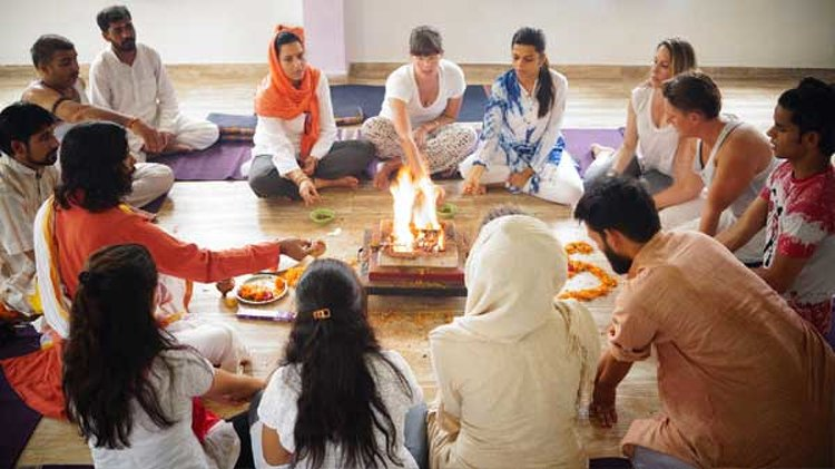 Vinyasa Yoga Academy Rishikesh India 4
