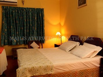 Majlis Ayurvedic Health Park Yoga and Meditation Greeshmam - Deluxe Room (AC)