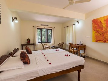 Ananda Lakshmi Ayurveda Retreat Psoriasis Management Program Deluxe Room